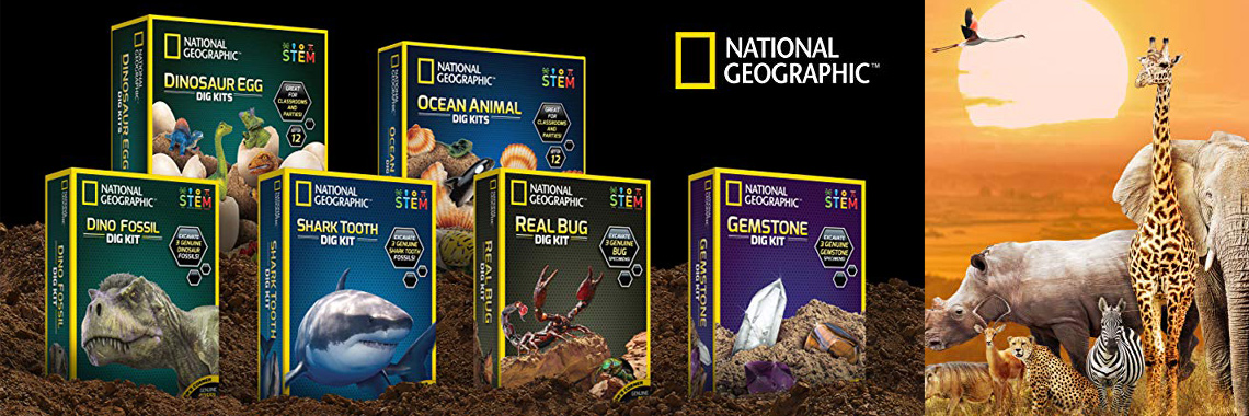 Игрушки от National Geographic