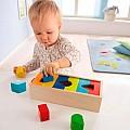 Развивающие игрушки для изучения формы и цвета