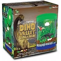 Научный STEM набор Светящийся террариум с динозаврами