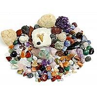 Научный STEM набор Камни, окаменелости и минералы (более 125 шт) от Dancing Bear