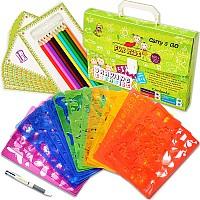 Набор для творчества Трафареты для рисования (54 предмета) от CreativeELF