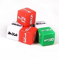 Математический набор Кубики Дроби (6 шт) от ETA hand2mind