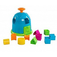 Развивающая игрушка Сортер с формами от Fat Brain Toys