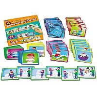 Логический набор карточек Истории (8 историй по 6 сцен) от Lakeshore