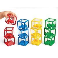 Тактильно-сенсорный набор Блоки с шариками (12 шт) от Lakeshore