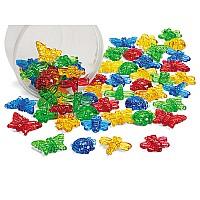 Набор для счета Пластиковые насекомые (64 шт) от Lakeshore
