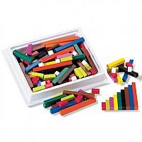 Набор для счета и сортировки палочки Кюизенера из пластика (74 шт) от Learning Resources