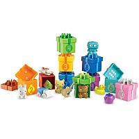 Развивающий набор для счета и сортировки Коробки с подарками (10 коробок) от Learning Resources
