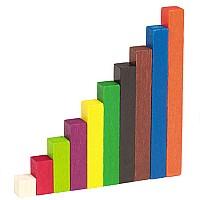 Комплект из разноцветных наборов палочек Кюизенера для счета  (6 наборов) от Learning Resources