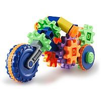 Развивающий конструктор с шестеренками Мотоцикл (30 шт) от Learning Resources