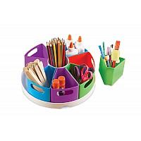 Органайзер с контейнерами для учебы и творчества (10 элементов) от Learning Resources