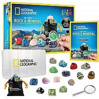 Научный STEM набор Камни и минералы (15 экземпляров) от NATIONAL GEOGRAPHIC