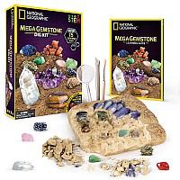 Научный STEM набор Геологические раскопки Камни кристаллы (15 камней) от NATIONAL GEOGRAPHIC