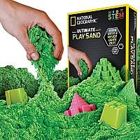 Научный STEM набор Цветной кинетический песок от NATIONAL GEOGRAPHIC