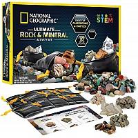 Научный STEM набор Камни и минералы от NATIONAL GEOGRAPHIC