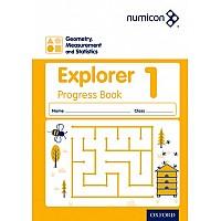 Нумикон. Геометрия, измерения и статистика. Рабочая тетрадь 1 (5-6 лет)