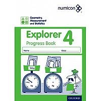 Нумикон. Геометрия, измерения и статистика. Рабочая тетрадь 4 (8-9 лет)
