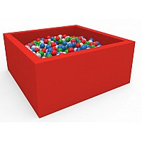 Детский сухой бассейн Квадрат с шариками (250 шт)