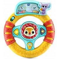 Развивающая интерактивная игрушка Руль с львенком от VTech